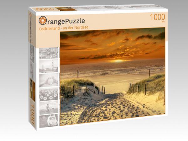 """Puzzle Motiv """"Ostfriesland - an der Nordsee"""" - Puzzle-Schachtel zu 1000 Teile Puzzle"""