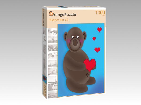 """Puzzle Motiv """"Kleiner Bär CB"""" - Puzzle-Schachtel zu 1000 Teile Puzzle"""