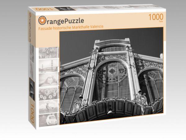 """Puzzle Motiv """"Fassade historische Markthalle Valencia"""" - Puzzle-Schachtel zu 1000 Teile Puzzle"""