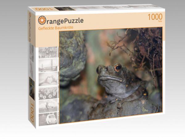 """Puzzle Motiv """"Gefleckte Baumkröte"""" - Puzzle-Schachtel zu 1000 Teile Puzzle"""