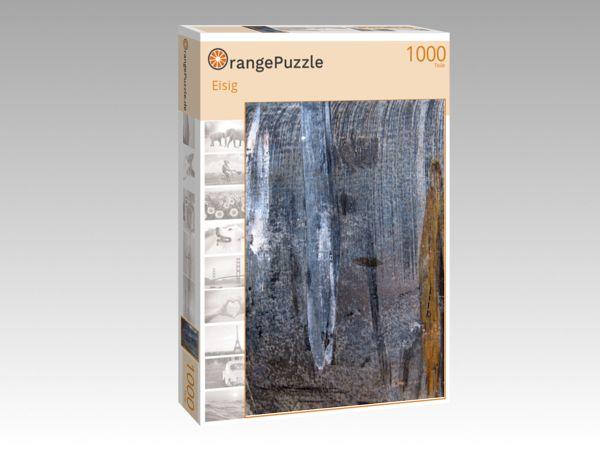 """Puzzle Motiv """"Eisig"""" - Puzzle-Schachtel zu 1000 Teile Puzzle"""