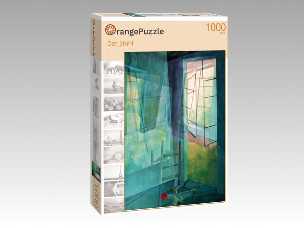 """Puzzle Motiv """"Der Stuhl"""" - Puzzle-Schachtel zu 1000 Teile Puzzle"""