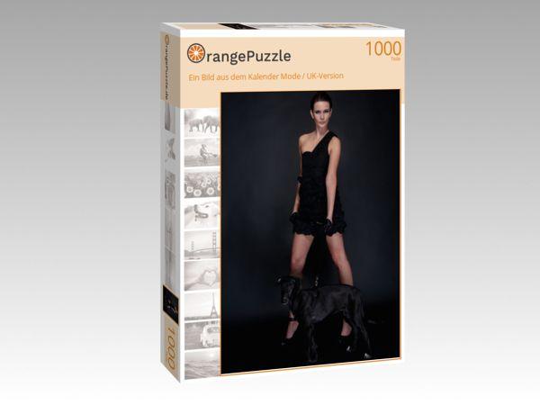 """Puzzle Motiv """"Ein Bild aus dem Kalender Mode / UK-Version"""" - Puzzle-Schachtel zu 1000 Teile Puzzle"""