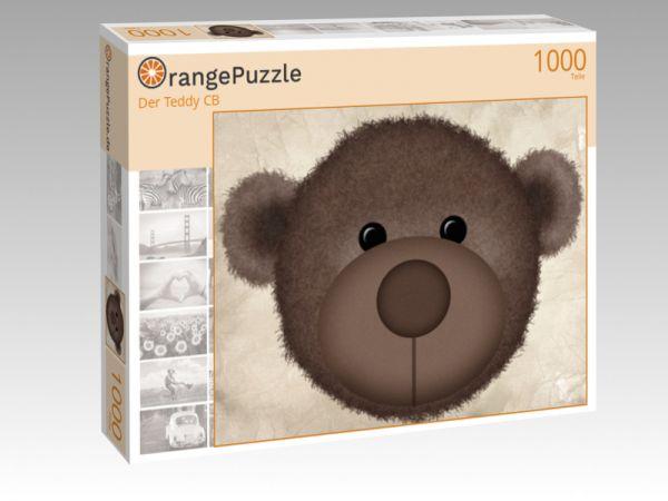 "Puzzle Motiv ""Der Teddy CB"" - Puzzle-Schachtel zu 1000 Teile Puzzle"