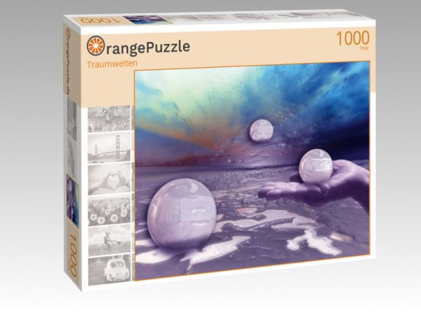 """Puzzle Motiv """"Traumwelten"""" - Puzzle-Schachtel zu 1000 Teile Puzzle"""