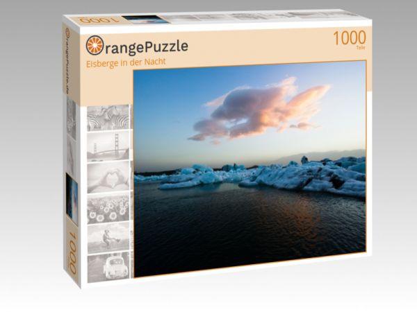 """Puzzle Motiv """"Eisberge in der Nacht"""" - Puzzle-Schachtel zu 1000 Teile Puzzle"""