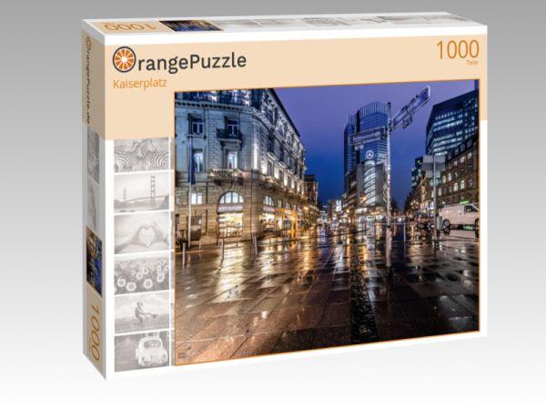"Puzzle Motiv ""Kaiserplatz"" - Puzzle-Schachtel zu 1000 Teile Puzzle"