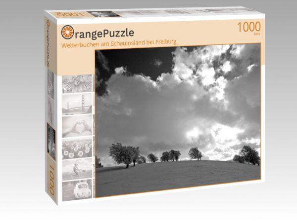 """Puzzle Motiv """"Wetterbuchen am Schauinsland bei Freiburg"""" - Puzzle-Schachtel zu 1000 Teile Puzzle"""