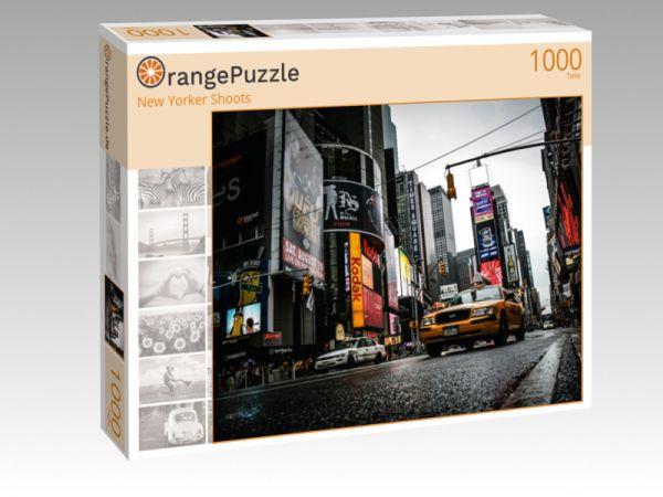 """Puzzle Motiv """"New Yorker Shoots"""" - Puzzle-Schachtel zu 1000 Teile Puzzle"""