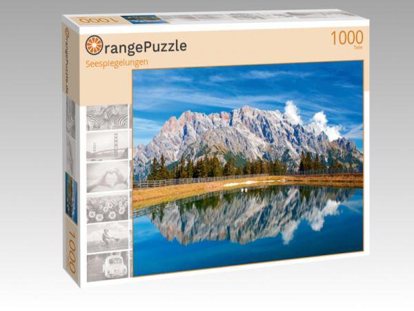 """Puzzle Motiv """"Seespiegelungen"""" - Puzzle-Schachtel zu 1000 Teile Puzzle"""