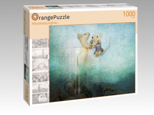 """Puzzle Motiv """"Mäuseseejungfrau"""" - Puzzle-Schachtel zu 1000 Teile Puzzle"""