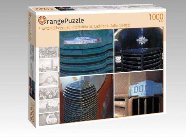 "Puzzle Motiv ""Fronten (Chevrolet, International, Cadillac LaSalle, Dodge)"" - Puzzle-Schachtel zu 1000 Teile Puzzle"