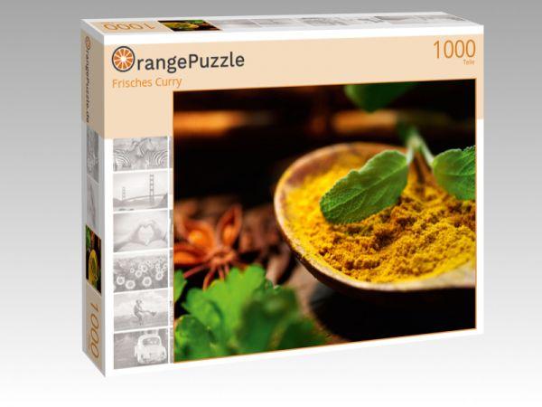 """Puzzle Motiv """"Frisches Curry"""" - Puzzle-Schachtel zu 1000 Teile Puzzle"""