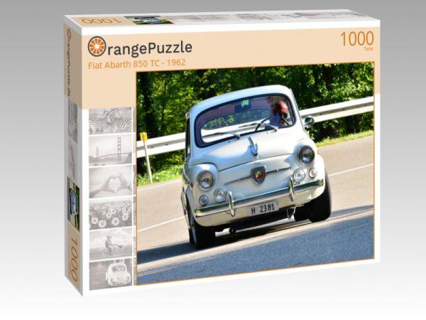 """Puzzle Motiv """"Fiat Abarth 850 TC - 1962"""" - Puzzle-Schachtel zu 1000 Teile Puzzle"""