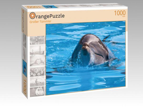 """Puzzle Motiv """"Großer Tümmler"""" - Puzzle-Schachtel zu 1000 Teile Puzzle"""