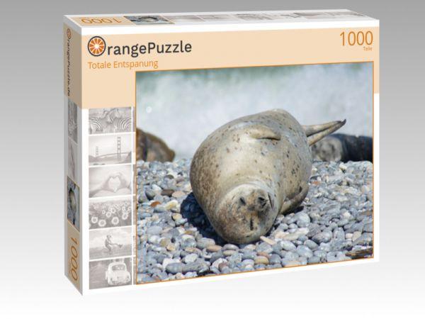 """Puzzle Motiv """"Totale Entspanung"""" - Puzzle-Schachtel zu 1000 Teile Puzzle"""