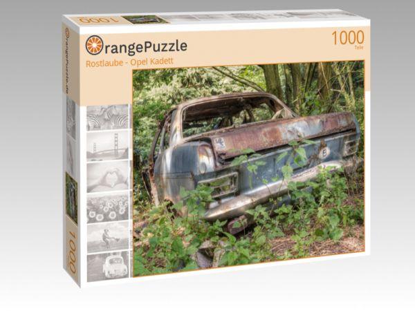 "Puzzle Motiv ""Rostlaube - Opel Kadett"" - Puzzle-Schachtel zu 1000 Teile Puzzle"