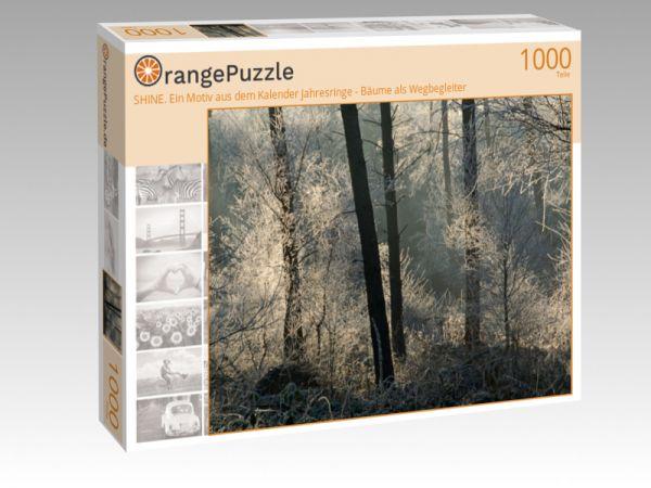 """Puzzle Motiv """"SHINE. Ein Motiv aus dem Kalender Jahresringe - Bäume als Wegbegleiter"""" - Puzzle-Schachtel zu 1000 Teile Puzzle"""