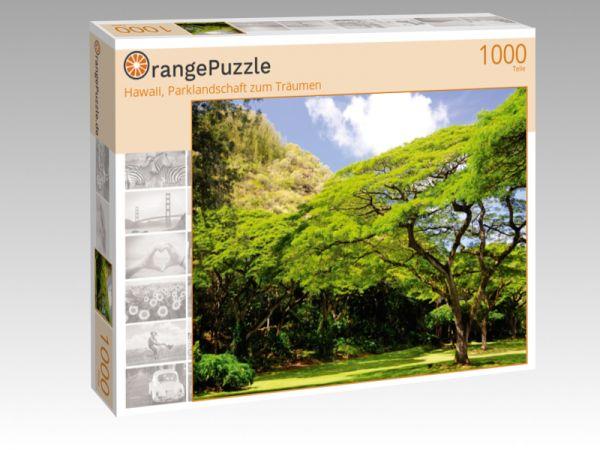 """Puzzle Motiv """"Hawaii, Parklandschaft zum Träumen"""" - Puzzle-Schachtel zu 1000 Teile Puzzle"""