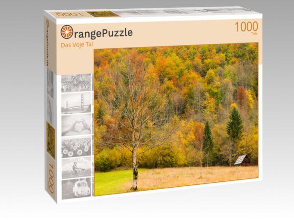 """Puzzle Motiv """"Das Voje Tal"""" - Puzzle-Schachtel zu 1000 Teile Puzzle"""