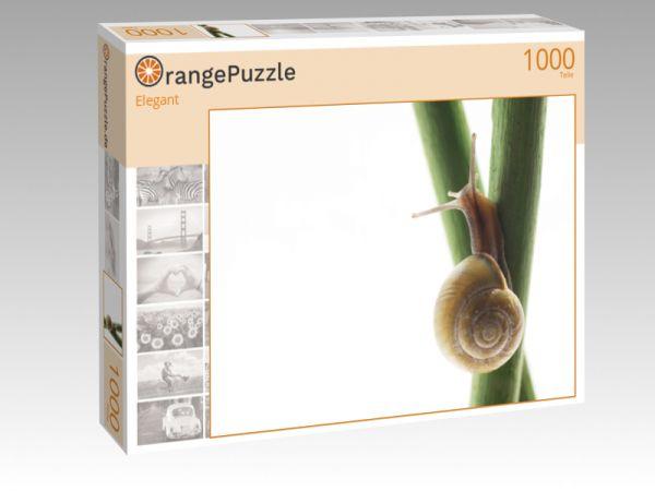 """Puzzle Motiv """"Elegant"""" - Puzzle-Schachtel zu 1000 Teile Puzzle"""