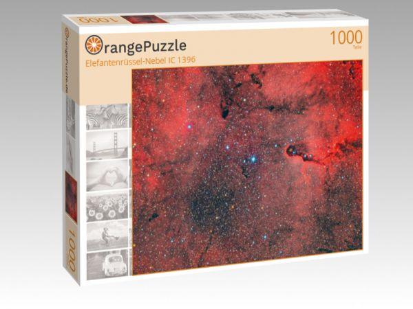 """Puzzle Motiv """"Elefantenrüssel-Nebel IC 1396"""" - Puzzle-Schachtel zu 1000 Teile Puzzle"""