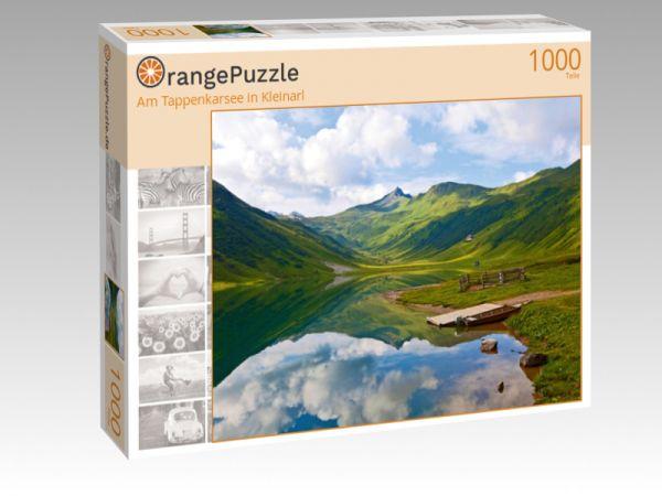 """Puzzle Motiv """"Am Tappenkarsee in Kleinarl"""" - Puzzle-Schachtel zu 1000 Teile Puzzle"""