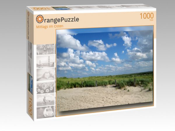 """Puzzle Motiv """"Mittags im Osten"""" - Puzzle-Schachtel zu 1000 Teile Puzzle"""