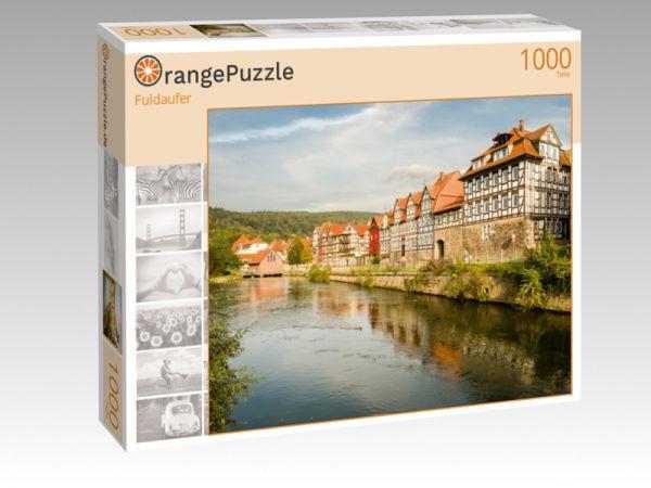 "Puzzle Motiv ""Fuldaufer"" - Puzzle-Schachtel zu 1000 Teile Puzzle"