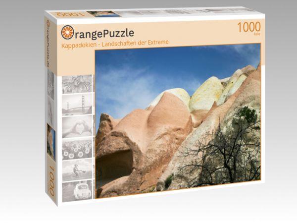 "Puzzle Motiv ""Kappadokien - Landschaften der Extreme"" - Puzzle-Schachtel zu 1000 Teile Puzzle"