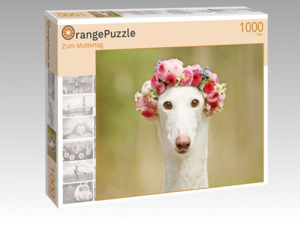 """Puzzle Motiv """"Zum Muttertag"""" - Puzzle-Schachtel zu 1000 Teile Puzzle"""