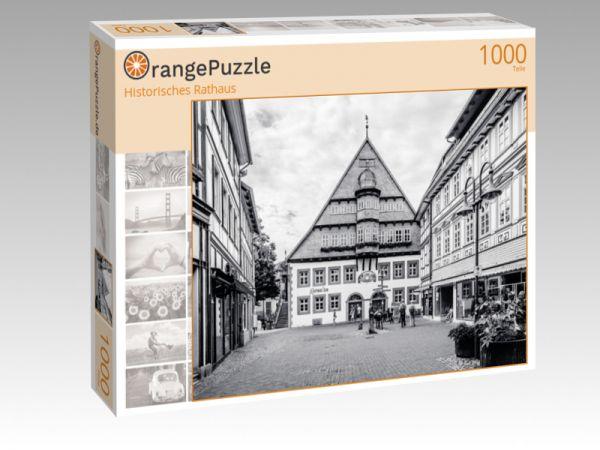 "Puzzle Motiv ""Historisches Rathaus"" - Puzzle-Schachtel zu 1000 Teile Puzzle"