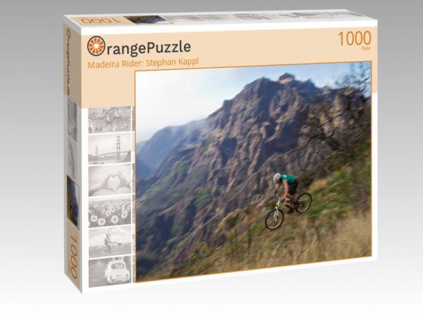 "Puzzle Motiv ""Madeira Rider: Stephan Kappl"" - Puzzle-Schachtel zu 1000 Teile Puzzle"
