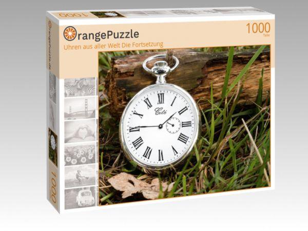 """Puzzle Motiv """"Uhren aus aller Welt Die Fortsetzung"""" - Puzzle-Schachtel zu 1000 Teile Puzzle"""