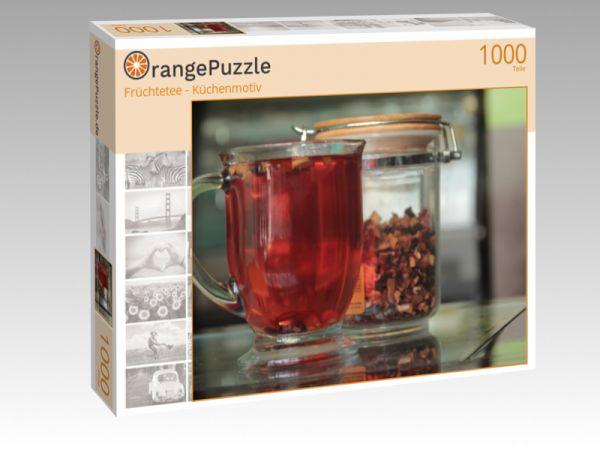 "Puzzle Motiv ""Früchtetee - Küchenmotiv"" - Puzzle-Schachtel zu 1000 Teile Puzzle"