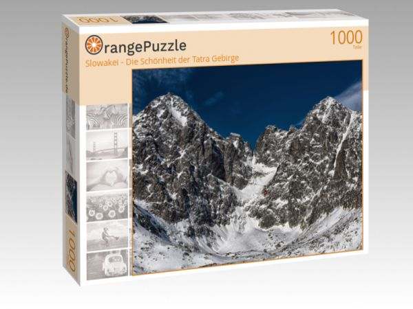 """Puzzle Motiv """"Slowakei - Die Schönheit der Tatra Gebirge"""" - Puzzle-Schachtel zu 1000 Teile Puzzle"""