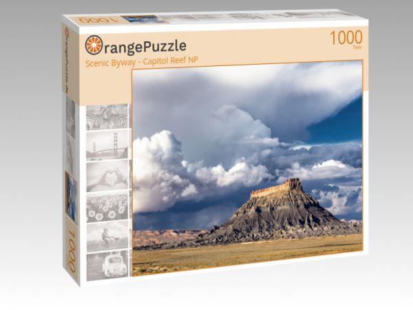 """Puzzle Motiv """"Scenic Byway - Capitol Reef NP"""" - Puzzle-Schachtel zu 1000 Teile Puzzle"""