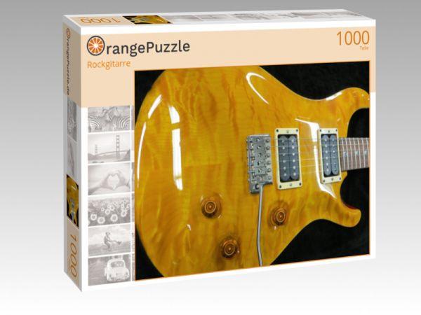 """Puzzle Motiv """"Rockgitarre"""" - Puzzle-Schachtel zu 1000 Teile Puzzle"""