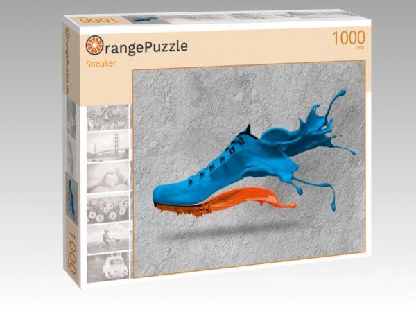 """Puzzle Motiv """"Sneaker"""" - Puzzle-Schachtel zu 1000 Teile Puzzle"""