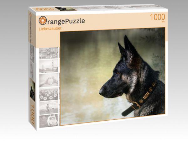 "Puzzle Motiv ""Liebeszauber..."" - Puzzle-Schachtel zu 1000 Teile Puzzle"