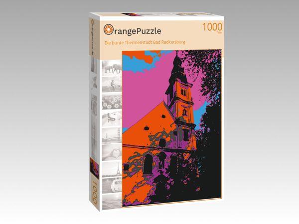 """Puzzle Motiv """"Die bunte Thermenstadt Bad Radkersburg"""" - Puzzle-Schachtel zu 1000 Teile Puzzle"""