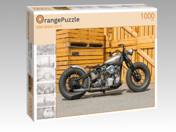 """Puzzle Motiv """"Edel-Bikes 2017"""" - Puzzle-Schachtel zu 1000 Teile Puzzle"""