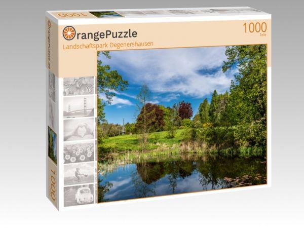 "Puzzle Motiv ""Landschaftspark Degenershausen"" - Puzzle-Schachtel zu 1000 Teile Puzzle"