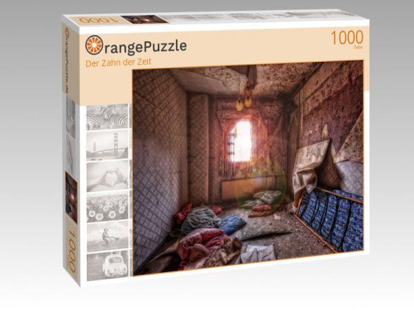 """Puzzle Motiv """"Der Zahn der Zeit"""" - Puzzle-Schachtel zu 1000 Teile Puzzle"""