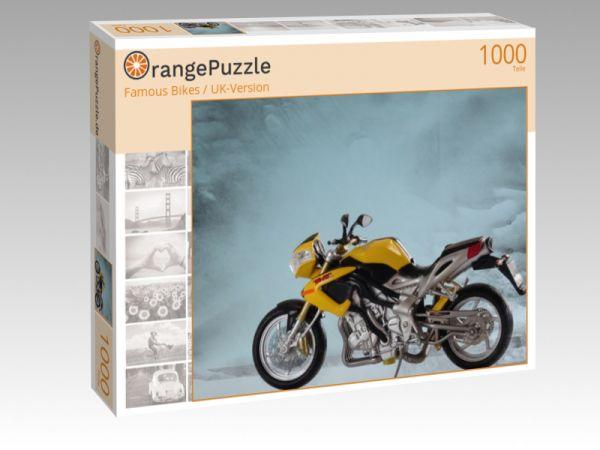 """Puzzle Motiv """"Famous Bikes / UK-Version"""" - Puzzle-Schachtel zu 1000 Teile Puzzle"""