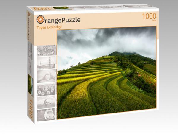 """Puzzle Motiv """"Topas Ecolodge"""" - Puzzle-Schachtel zu 1000 Teile Puzzle"""