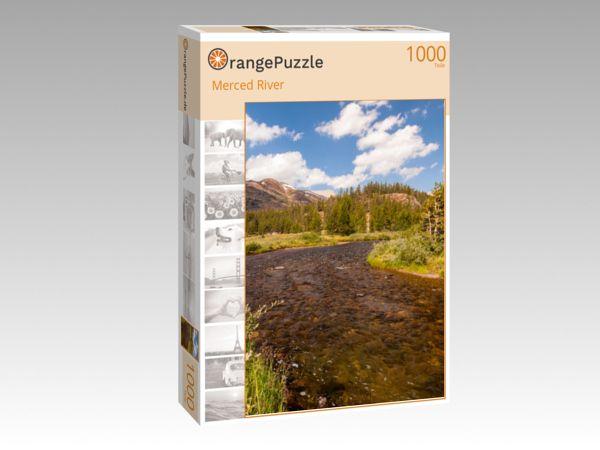 """Puzzle Motiv """"Merced River"""" - Puzzle-Schachtel zu 1000 Teile Puzzle"""