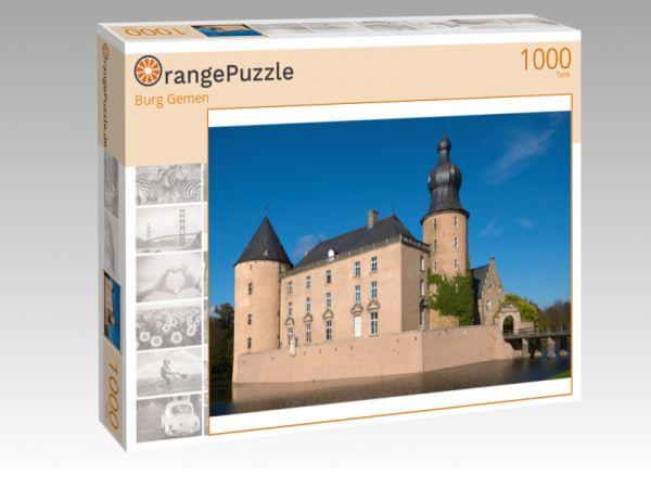 "Puzzle Motiv ""Burg Gemen"" - Puzzle-Schachtel zu 1000 Teile Puzzle"