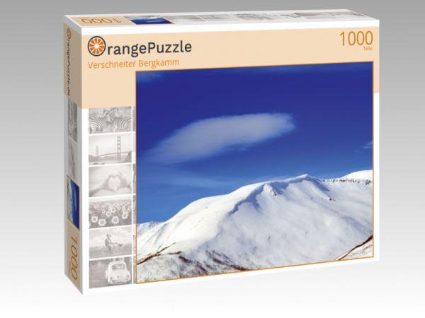 """Puzzle Motiv """"Verschneiter Bergkamm"""" - Puzzle-Schachtel zu 1000 Teile Puzzle"""
