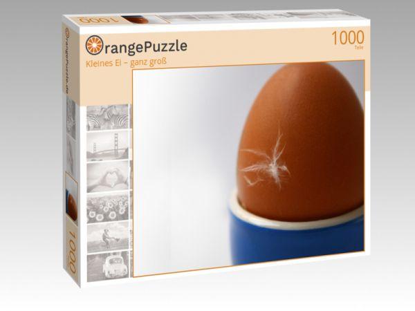 """Puzzle Motiv """"Kleines Ei – ganz groß"""" - Puzzle-Schachtel zu 1000 Teile Puzzle"""